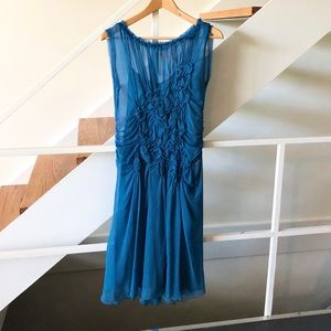 Philosophy di Alberta Ferretti Bright Blue Dress